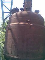 Реактор 10 м. куб. чёрный металл