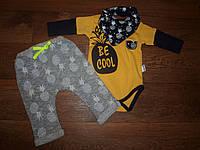 Комплект детский боди штаны
