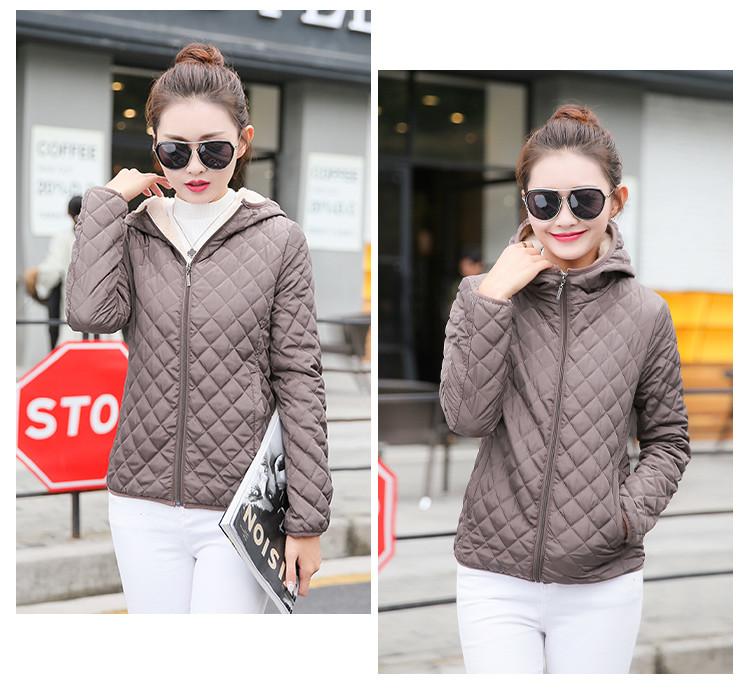 Женская стеганая куртка на меху с капюшоном. Модель 6389. - купить ... 72d758428d1