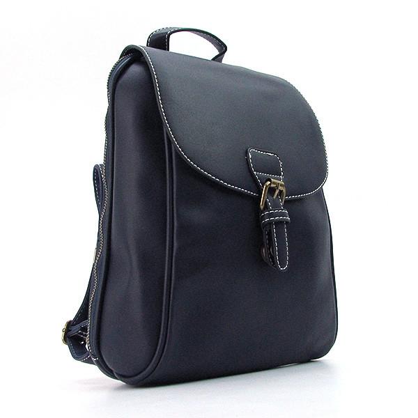 Рюкзак кожзам молодежный синий Bornie 8093