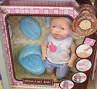 Интерактивный пупс-кукла  поет, кушает, говорит