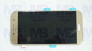 Дисплей с сенсором Samsung A720 Galaxy A7 Gold/Золотой, GH97-19723B , фото 2