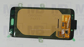 Дисплей с сенсором Samsung J730 Galaxy J7 Black, GH97-20736A, фото 2
