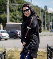 Женская туника на пуговицах с 48-74 размер, фото 1