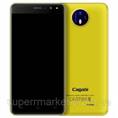 Смартфон VKworld Cagabi F2 16Gb Yellow