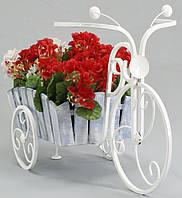 Подставка для цветов Велосипед Кантри малый