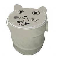 Текстильная корзина для игрушек Мышка 40*50 см