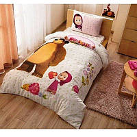 Постельное белье Tac Disney - Masha and the bear super berry 160 220  подростковое c56ed1e487159