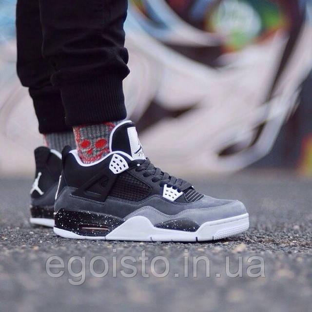 60933c799a1e14 Мужские баскетбольные кроссовки Nike Air Jordan IV IV Retro Fear Pack (найк  аир джордан)