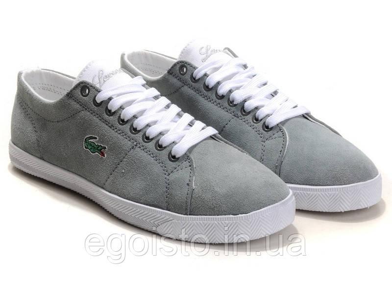 Мокасины мужские Lacoste City Series Grey (лакост) - Интернет-магазин  брендовой обуви