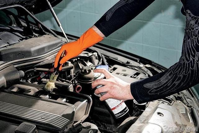 Очистители деталей и механизмов автомобиля