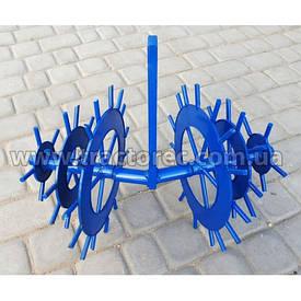 Їжак дисковий ротаційний, міжрядний, просапний для мотоблоків та тракторів