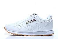 Кроссовки мужские Reebok Classic Leather II White Camo (рибок) белые 43
