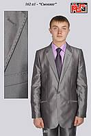 Костюм мужской классический серый с отливом