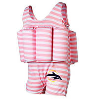 Купальник-поплавок Konfidence Floatsuits, Pink Stripe (FS02-4/5L)