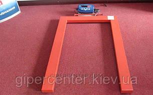 Паллетные весы 4BDU2000П бюджет 840х1260 мм (до 2000 кг), фото 2