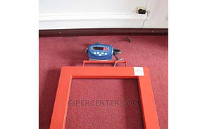 Паллетные весы 4BDU2000П бюджет 840х1260 мм (до 2000 кг), фото 3