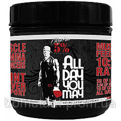 All Day You May 465 гр mango pineapple Rich Piana 5% Nutrition