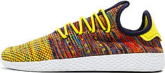 Мужские кроссовки Pharrell Williams x Adidas Tennis Hu Multicolor