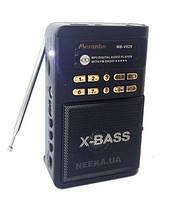 Радиоприемник MB-V029 (Дисплей,USB/microSD,MP3,FM,питание 4-5V/DC, Фонарик)