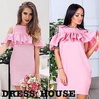 Женское платье летнее с воланами, разные цвета