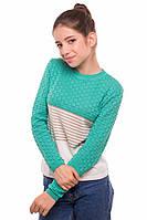 Нежный вязаный джемпер для девочек (разные цвета), фото 1