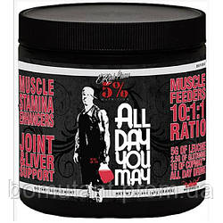 All Day You May 465 гр watermelon Rich Piana 5% Nutrition