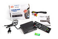 ТВ-ресивер DVB-T2 Romsat 1017HD