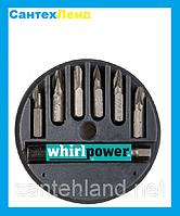 Набор бит 25 мм 7 предметов хром-ванадиевая сталь  SKRAB.