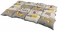 Матрац Trixie Patchwork Blanket микрофибра и полиэстер, с рисунком, 100х70 см