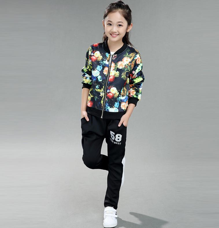 Спортивний костюм для дівчинки 27d3fa1d9ec71