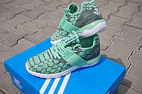 Мужские кроссовки Adidas Tubular Runner бирюза - 150-22