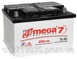 Автомобильный аккумулятор A-mega ultra 75Ач 790А (0) R