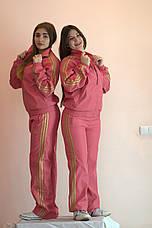Костюм спортивный женский плащевка реплика ADIDAS, фото 2