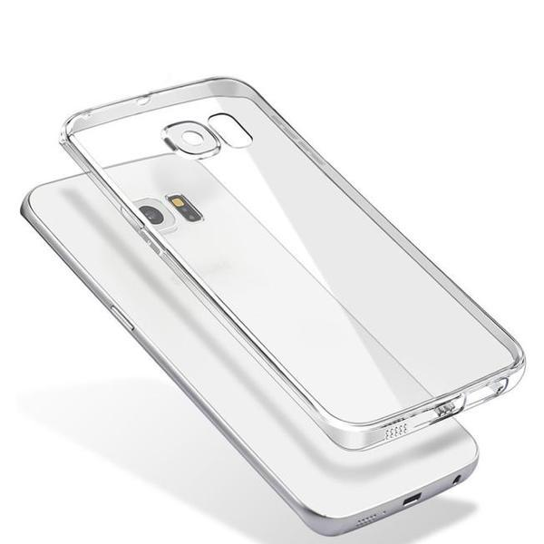 Силиконовый чехол прозрачный для Samsung Galaxy S7 Edge