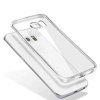 Силиконовый чехол прозрачный для Samsung Galaxy S7 Edge, фото 1