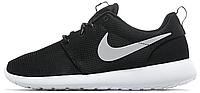 Женские кроссовки Nike Roshe Run, найк роше ран черные