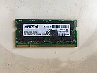 So-dimm Crucial 2Gb  PC2-6400S  DDR2-800
