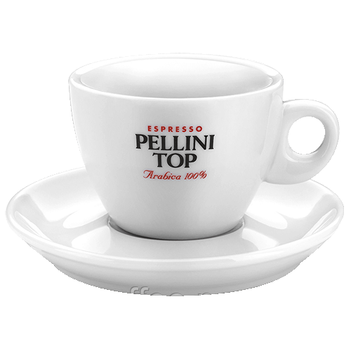 Чашка для кофе Pellini Top espresso 60 мл + блюдце