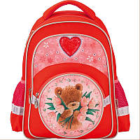Рюкзак школьный Kite Popcorn Bear 38х29х13 см 14 л для девочек (PO17-525S)