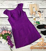 Лаконичное платье фасона baby doll из мерцающей ткани  DR3401