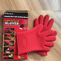 Жаропрочные кухонные рукавицы antiscald gloves