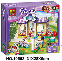 """Конструктор Bela Friends 10558 """"Детский сад для щенков"""" (аналог LEGO Friends), 290 дет. (Френдс, подружки)"""