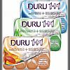Туалетное мыло Duru Soft Sensations  микс 1+1 4х90г