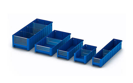 Поперечный разделитель TD 1109 к полочным контейнерам SK (105x79 мм), фото 2