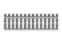 Еврозабор секция В5