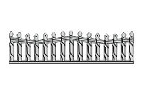 Еврозабор секция В1