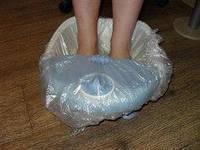 Чехол на ванночку для педикюра полиэтилен с резинкой 1 шт