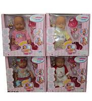 Кукла-пупс 8003/8003-4/7/9 интерактивный с аксессурами