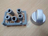 Ручка плиты универсальная (серебро) + 3 переходника